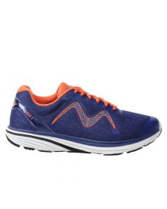 SPEED 2 Men's Lace Up Running Shoe in Deep Ocean