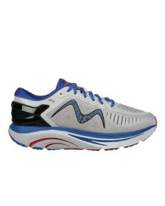 GT 2 Men's Lace Up Running Shoe in Grey Blue