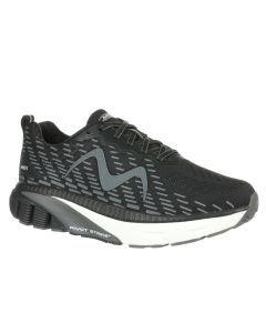 GTR-1500 Men's Lace Up Running Shoe in Black