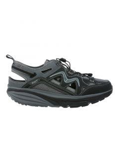 KINABALU Men's Lace Up Outdoor Shoe in Dark Grey