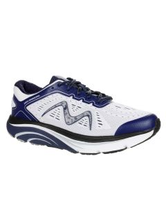 M-2000 Men's Lace Up Running Shoe in Navy/White