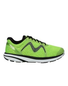 SPEED 2 Men's Lace Up Running Shoe in Lime Green