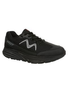 SPORT 1 Men's Lace Up Fitness Walking Shoe in Black
