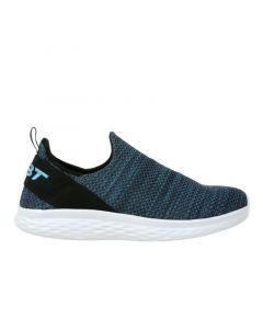ROME-100 Air Mesh Men's Slip On Fitness Walking Shoe in Blue