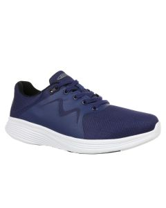 YASU Men's Fitness Walking Shoe in Navy