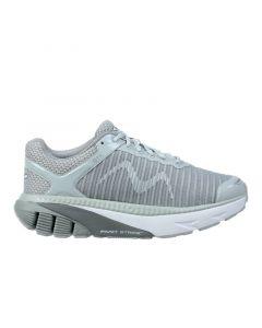 GTR Women's Lace Up Running Shoe in Light Grey