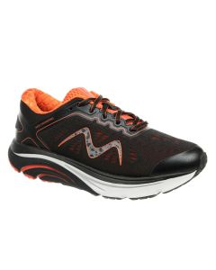 M-2000 Lace Up Women's Running Shoe in Black Mars