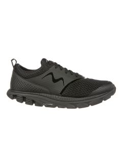 SPEED 17 Men's Lace Up Running Shoe in Black