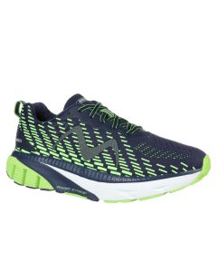 MTR-1500 Men's Lace Up Running Shoe in Navy/Lime