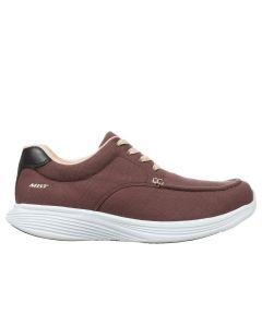 KAORI Men's Lace Up Fitness Walking Shoe in Brown