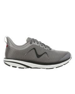 SPEED-1200 Men's Lace Up Running Shoe in Grey