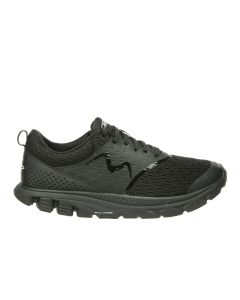 SPEED 18 Men's Lace Up Running Shoe in Black