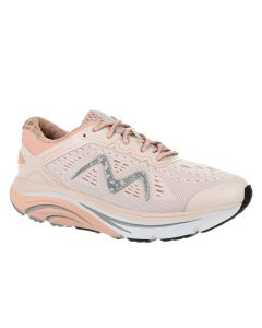 M-2000 Lace Up Women's Running Shoe in Sand/Coral
