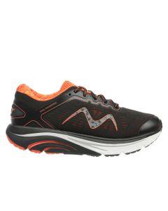 M-2000 Lace Up Women's Running Shoe in Black Mars