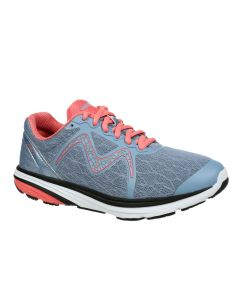 SPEED 2 Women's Lace Up Running Shoe in Grey Peach