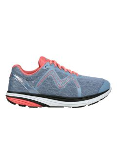 SPEED 2 Women's Lace Up Running Shoe in Grey Peach